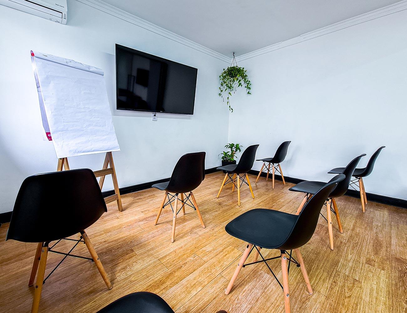 Sala de Treinamento e Eventos - Formato evento